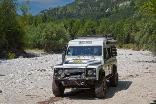 Expeditionsfahrzeug mit Wohnkabine